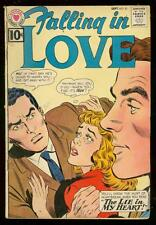 FALLING IN LOVE #45 1961-DC ROMANCE COMIC-10 CENT ISSUE VG