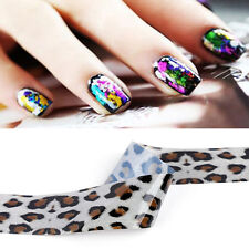 Multi Color Nail Art Foil Wrap Transfer Paper Glitter Stickers Decals Star Paper