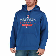 Majestic Texas Rangers Royal Know Tomorrow Poly Synthetic Pullover Hoodie