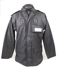 Ex Police Black VentFlex Waterproof & Breathable Security Jacket Coat
