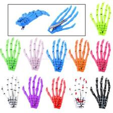 Halloween Women Zombie Skull Skeleton Hand Bone Claw Hairpin Hair Clip Party
