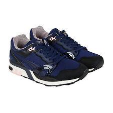 Puma Xt2 X Vashtie Mens Blue Nubuck Lace Up Sneakers Shoes