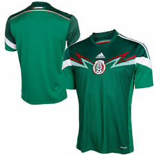 adidas Mexico Green 2014/15 Replica Home Soccer Jersey