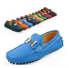Fashion Men's Flat Oxford Slip On Driving Moccasin Loafer Casual Shoes 11 Color