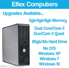 FAST DELL OPTIPLEX COMPUTER TOWER DESKTOP PC CUSTOMISE RAM HDD PROCESSOR WINDOWS