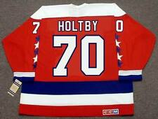 BRADEN HOLTBY Washington Capitals CCM Vintage Home NHL Hockey Jersey