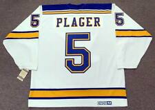 BOB PLAGER St. Louis Blues 1967 CCM Vintage Throwback Away NHL Hockey Jersey