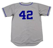 JACKIE ROBINSON Brooklyn Dodgers 1955 Majestic Cooperstown Away Baseball Jersey