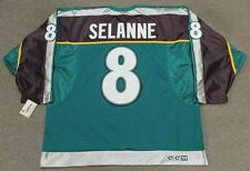TEEMU SELANNE Anaheim Mighty Ducks 1998 CCM Alternate NHL Hockey Jersey