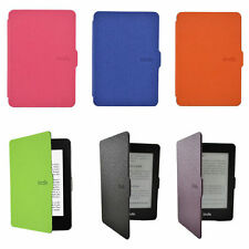 Ultra Slim Magnetic Leather Smart Case Cover for Amazon Kindle Paperwhite UK