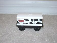 Thomas & Friends Wooden Railway Train Cow Car 2003 Learning Curve RARE!