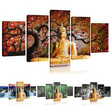 BUDDHA Oil Painting Canvas Modern Wall Decor Art  Abstract Large Set No Frame