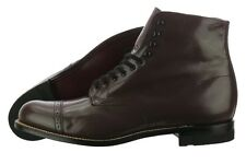 Stacy Adams Madison 00015-02 Brown Leather Dress Ankle Boots Medium (D, M) Mens