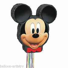 Disney's Mickey Mouse Head Pull Pinata Game Childrens Birthday Party Supplies