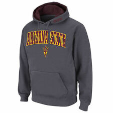 Stadium Athletic Arizona State Sun Devils Charcoal Arch & Logo Pullover Hoodie