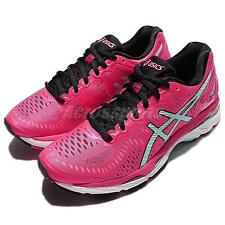 Asics Gel-Kayano 23 Pink Blue Womens Running Shoes Sneakers Trainers T696N-1978
