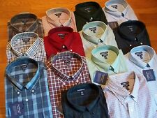 NWT, $45.MSRP Mens Croft & Barrow Easy Care Classic Fit Cotton Blend Dress Shirt