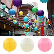 12'' Chinese Paper Lantern Round Lamp Wedding Festival Home Decor Party Supply
