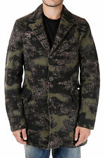 DIESEL Man Mixed Wool and Cotton Single Breasted BARTON Jacket New with tags