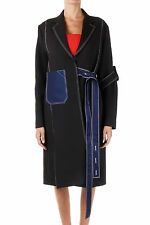 CELINE Woman Black Coat with Belt New with tags and Original