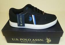 US POLO ASSN MENS MOUNT  BLACK SILVER SHOES SNEAKERS NEW IN BOX SYNTHETIC