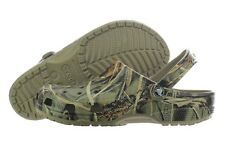 Crocs Classic Realtree Khaki 12132-260 Camo Roomy Fit Clog Mens