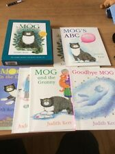 Mog the Forgetful Cat Collection, Judith Kerr, set of 6 titles + audio CD in box