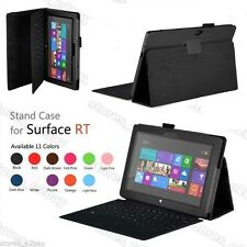 STAND LEATHER CASE COVER HOLDER FOR Microsoft Surface 10.6 RT RT 2 Windows 8