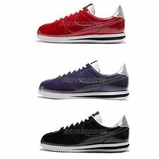 Nike Cortez Basic PREM QS Patent Leather Mens Casual Shoes Sneakers Pick 1
