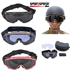 Cooler Fan Version Outdoor Paintball Airsoft Glasses SI-Ballistic Safety Goggles