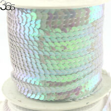 6mm Violet Coin Connect Sequin Strip Beads Diy Clothing Jewelry Accessories
