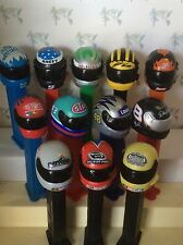 PEZ - NASCAR Helmets - Choose Driver or Track -Not All Available- Use for Crafts