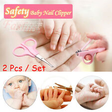 Nice Baby Infant Finger Toe Nail Clipper Scissor Cutter Safety Manicure Set NEW