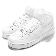 Wmns Nike Air Force 1 Mid 07 LE White Womens Casual Shoes AF1 Sneaker 366731-100