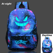 Noctilucence Pokemon Go Print Backpack School Bag Shoulder Bag for Boys Girls
