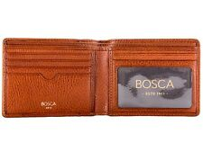 Bosca Correspondent Exectutive I.D. Wallet Mens Leather Bifold Wallet 95