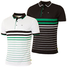 Calvin Klein Golf 2016 Mens Vital Short Sleeve Performance Tech Polo Shirt