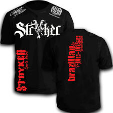 Stryker MMA Y Gloves Shorts Sleeve T-Shirt BJJ Boxing UFC W FREE Tapout Sticker