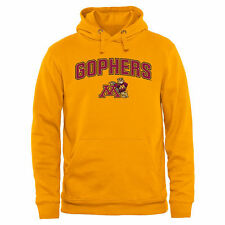 Minnesota Golden Gophers Gold Proud Mascot Pullover Hoodie