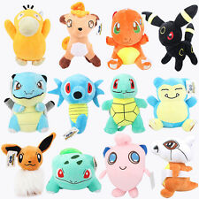 POKEMON GAME CHARACTER PLUSH STUFFED TOY LOTS ANIME ANIMAL FIGURE DOLL Free Ship