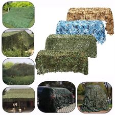 3 x 3Ft Woodland Leaves Camouflage Camo Army Net Netting Cover Camping Hunting