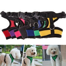 Pet Harness Collar Leash Strap Mesh Dog Cat Adjustable Vest Breathable Puppy New