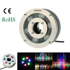 Outdoor 5W IP68 LED RGB Light Underwater Flood Lamp Pool Fountain 12V A4Q0