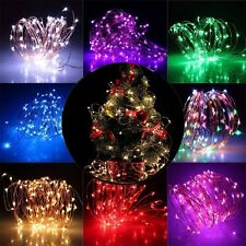 String Fairy Light LED Solar/Battery Operated Xmas Lights Party Wedding Decor
