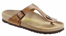 BIRKENSTOCK 743781 GIZEH 35-46 antique brown leather