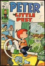 PETER THE LITTLE PEST #2-BASEBALL COVER VG+
