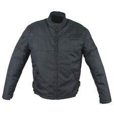 MENS MOTORCYCLE REFLECTIVE BLACK MESH JACKET ZIP-OUT LINER CLOSEOUT SALE- K2R