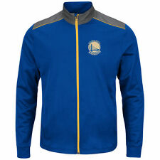 Majestic Golden State Warriors Royal Fast or Last Full-Zip Jacket
