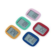 LCD Display Step Calorie Counter Walking Distance Sports Digital Pedometer E4B5