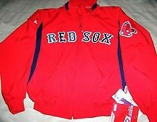 BOSTON RED SOX THERMABASE DUGOUT JACKET MENS 4XL NWT